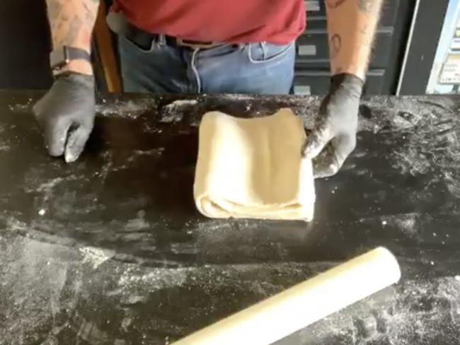 Une pâte feuilletée prête en 8 minutes